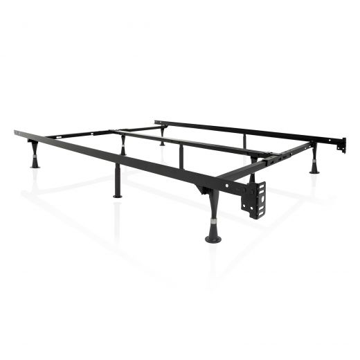 Structures Adjustable Bed Frame with Glides